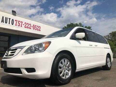 2009 Honda Odyssey for sale at Trimax Auto Group in Norfolk VA