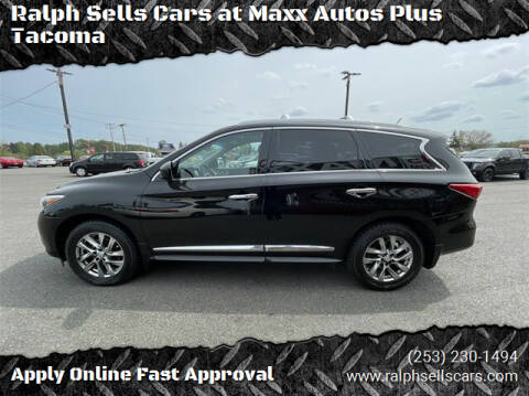 2013 Infiniti JX35 for sale at Ralph Sells Cars at Maxx Autos Plus Tacoma in Tacoma WA
