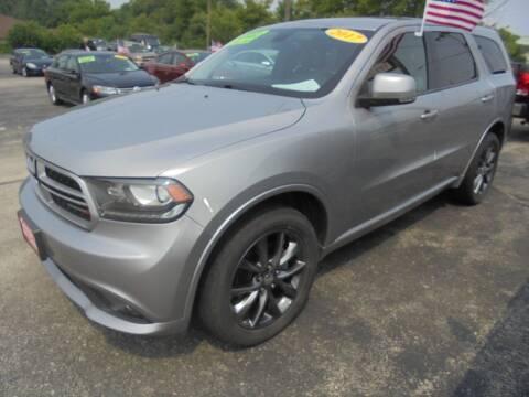 2017 Dodge Durango for sale at Century Auto Sales LLC in Appleton WI