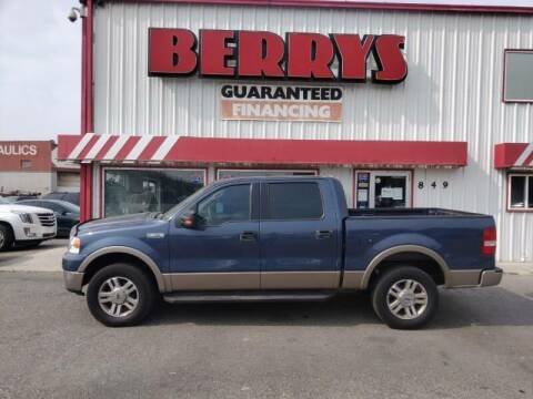 2006 Ford F-150 for sale at Berry's Cherries Auto in Billings MT
