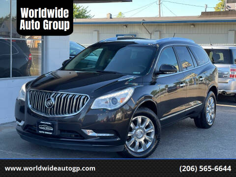 2013 Buick Enclave for sale at Worldwide Auto Group in Auburn WA