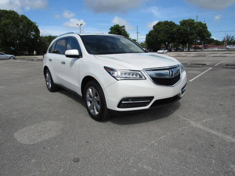 2015 Acura MDX for sale at United Auto Center in Davie FL