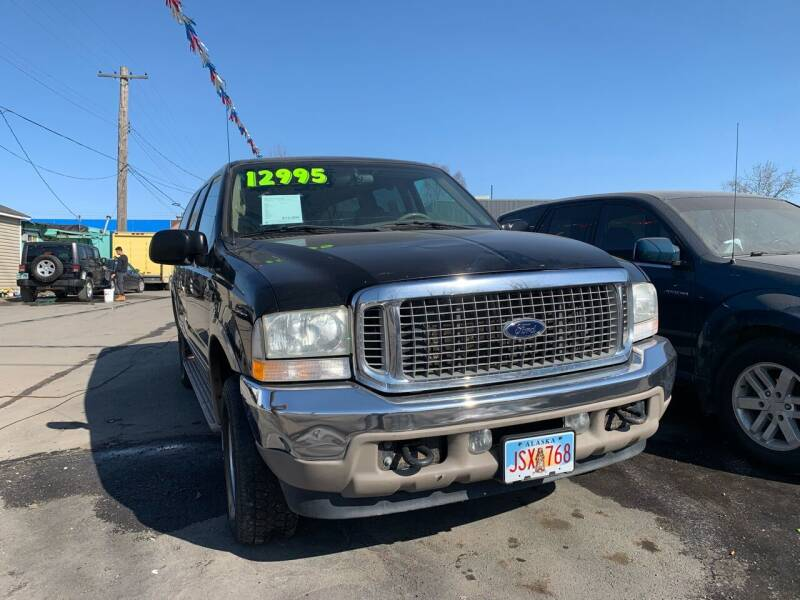 2002 Ford Excursion for sale at ALASKA PROFESSIONAL AUTO in Anchorage AK