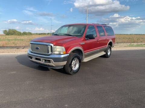2002 Ford Excursion for sale at VARA AUTOPLEX in Seguin TX