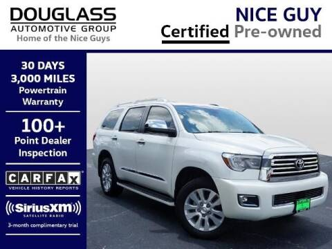 2019 Toyota Sequoia for sale at Douglass Automotive Group - Douglas Volkswagen in Bryan TX