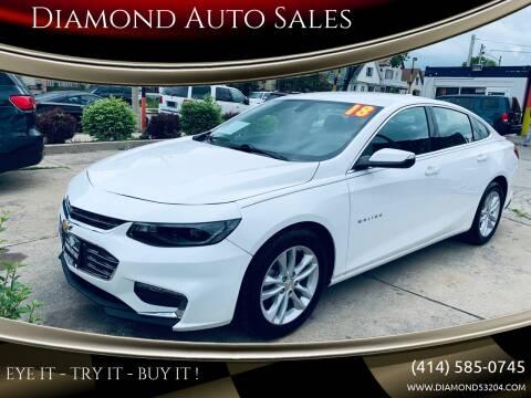 2018 Chevrolet Malibu for sale at Diamond Auto Sales in Milwaukee WI