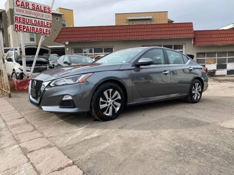 2020 Nissan Altima for sale at STS Automotive in Denver CO