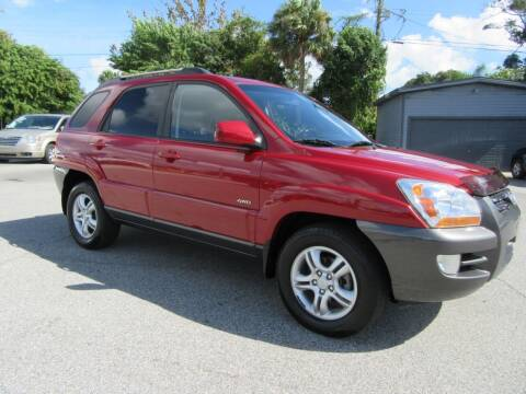 2005 Kia Sportage for sale at ARENA AUTO SALES,  INC. in Holly Hill FL