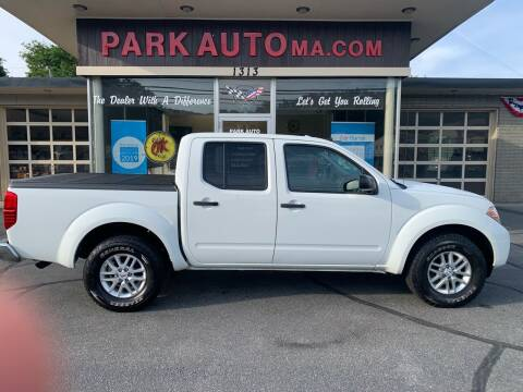 2014 Nissan Frontier for sale at Park Auto LLC in Palmer MA