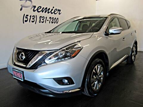 2018 Nissan Murano for sale at Premier Automotive Group in Milford OH