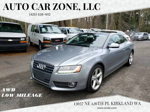 2010 Audi A5 for sale at Auto Car Zone, LLC in Kirkland WA
