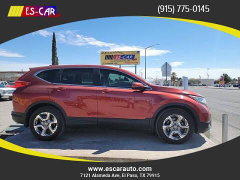 2017 Honda CR-V for sale at Escar Auto in El Paso TX