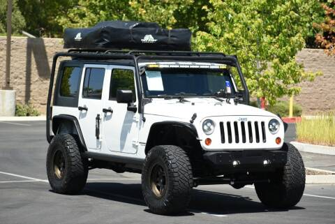 2010 Jeep Wrangler Unlimited for sale at Sac Truck Depot in Sacramento CA