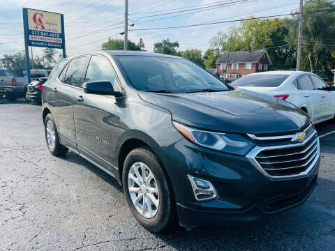 2019 Chevrolet Equinox for sale at California Auto Sales in Indianapolis IN