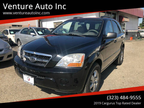 2009 Kia Sorento for sale at Venture Auto Inc in South Gate CA