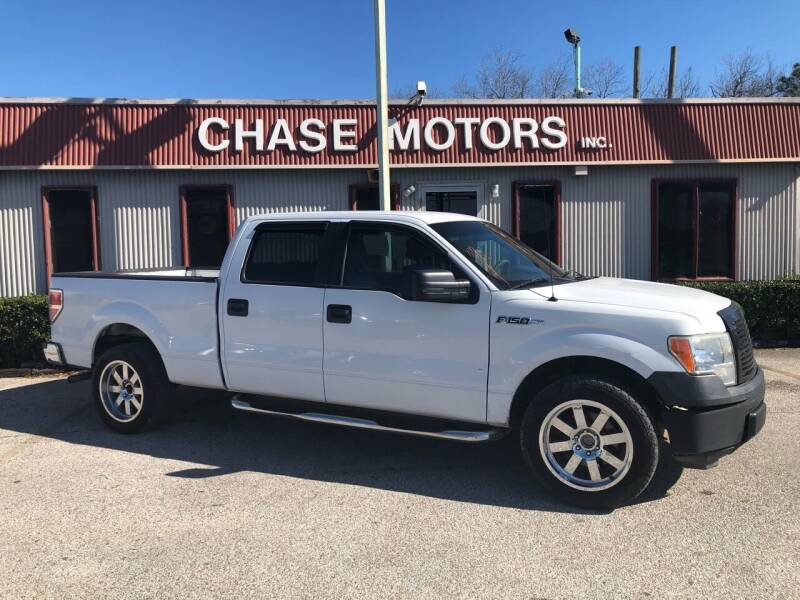 2010 Ford F-150 for sale at Chase Motors Inc in Stafford TX