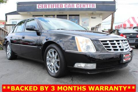 2008 Cadillac DTS for sale at CERTIFIED CAR CENTER in Fairfax VA
