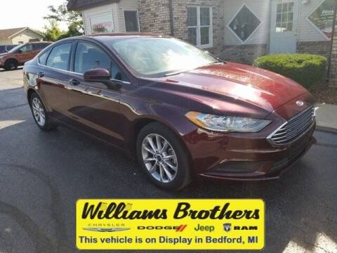 2017 Ford Fusion for sale at Williams Brothers - Pre-Owned Monroe in Monroe MI