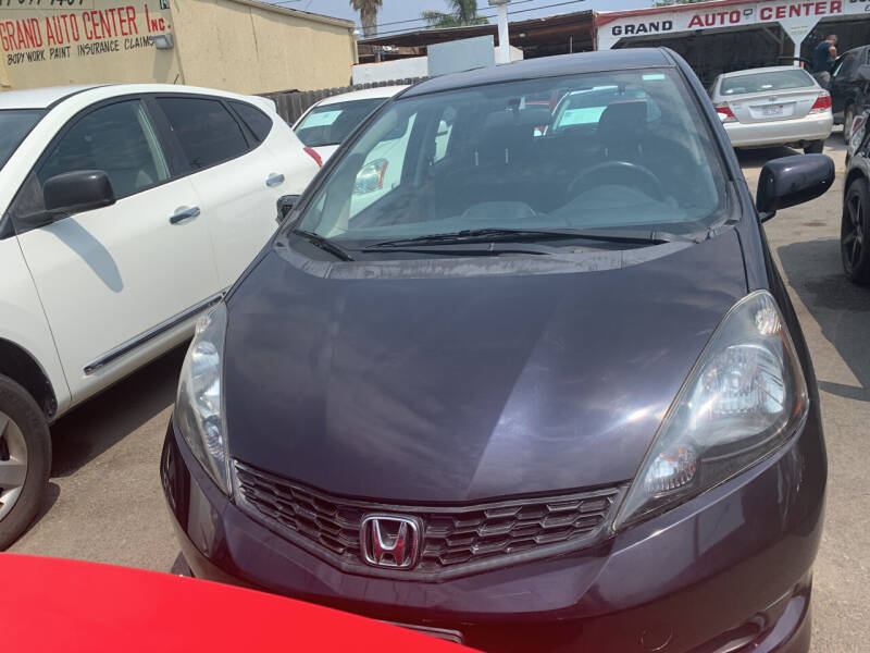2013 Honda Fit for sale at GRAND AUTO SALES - CALL or TEXT us at 619-503-3657 in Spring Valley CA