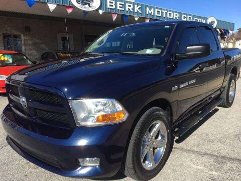 2012 RAM Ram Pickup 1500 for sale at Berk Motor Co in Whitehall PA
