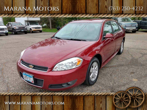 2010 Chevrolet Impala for sale at Marana Motors in Princeton MN