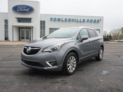 2020 Buick Envision for sale at FOWLERVILLE FORD in Fowlerville MI
