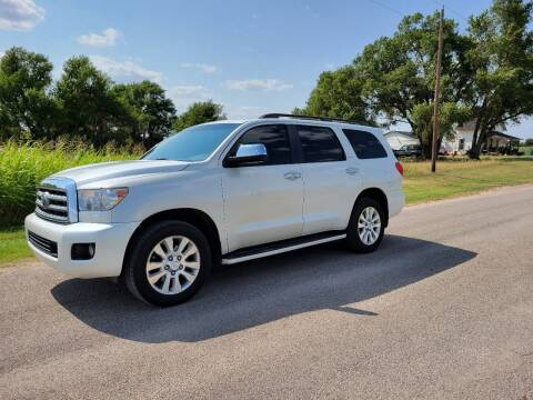 2010 Toyota Sequoia for sale at TNT Auto in Coldwater KS