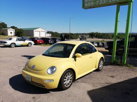 2003 Volkswagen New Beetle for sale at Independent Auto in Belle Fourche SD