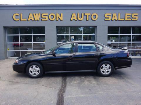 2005 Chevrolet Impala for sale at Clawson Auto Sales in Clawson MI
