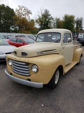 1950 Ford F-100 for sale at Collector Car Co in Zanesville OH