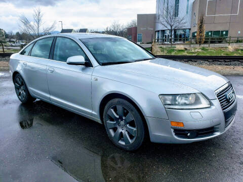 2007 Audi A6 for sale at J & M PRECISION AUTOMOTIVE, INC in Fort Collins CO