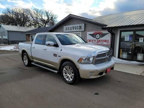 2013 RAM Ram Pickup 1500 for sale at CRUZ'N MOTORS in Spirit Lake IA