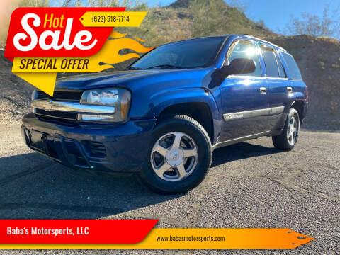 2004 Chevrolet TrailBlazer for sale at Baba's Motorsports, LLC in Phoenix AZ