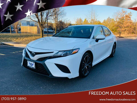 2020 Toyota Camry for sale at Freedom Auto Sales in Chantilly VA
