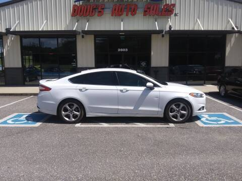 2016 Ford Fusion for sale at DOUG'S AUTO SALES INC in Pleasant View TN