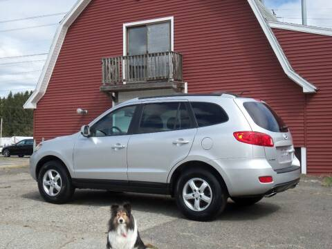 2007 Hyundai Santa Fe for sale at Red Barn Motors, Inc. in Ludlow MA