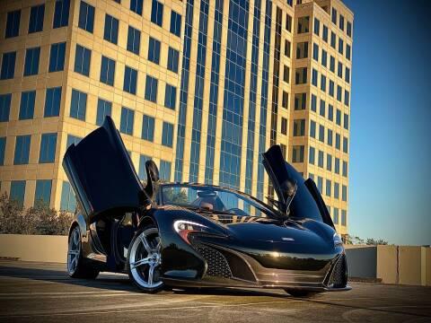 2016 McLaren 650S Spider for sale at FALCON AUTO BROKERS LLC in Orlando FL