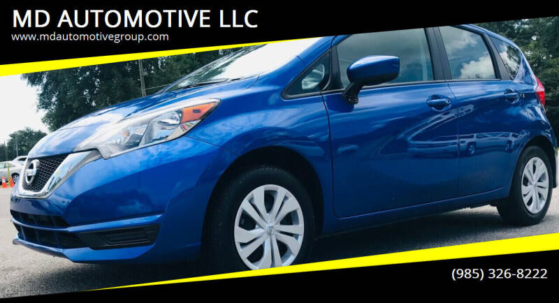 2017 Nissan Versa Note for sale at MD AUTOMOTIVE LLC in Slidell LA