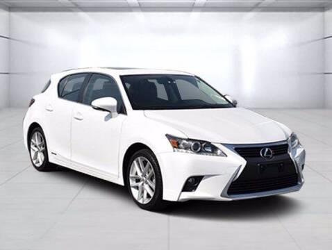 2015 Lexus CT 200h for sale at BOB ROHRMAN FORT WAYNE TOYOTA in Fort Wayne IN