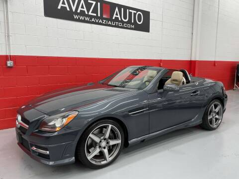 2015 Mercedes-Benz SLK for sale at AVAZI AUTO GROUP LLC in Gaithersburg MD