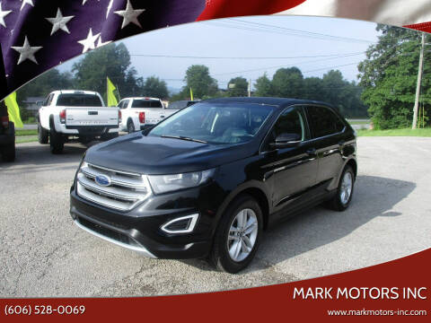 2018 Ford Edge for sale at Mark Motors Inc in Gray KY