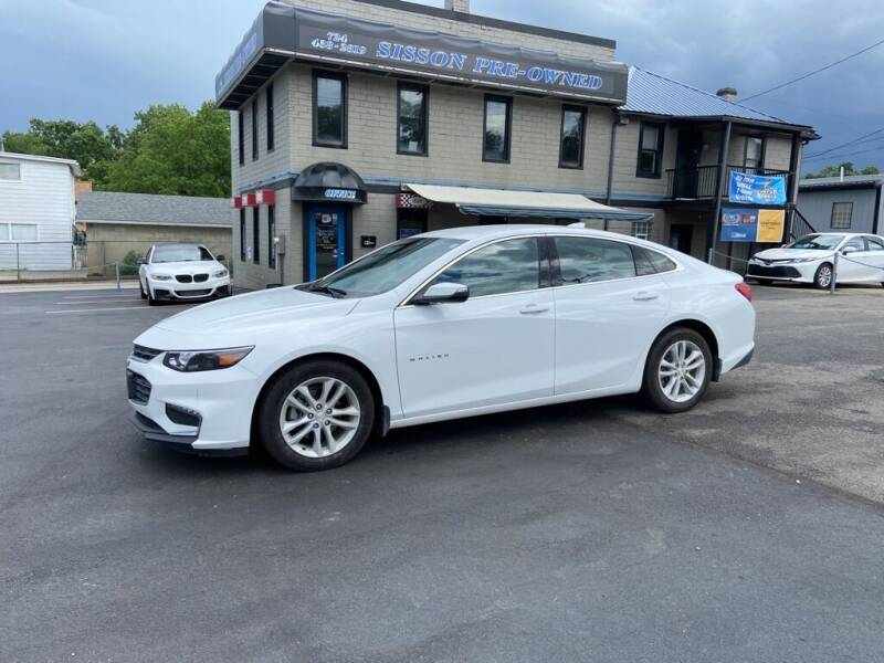 2018 Chevrolet Malibu for sale at Sisson Pre-Owned in Uniontown PA