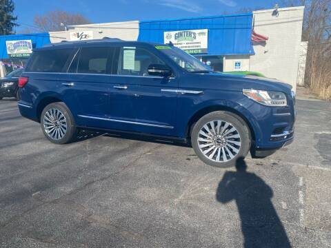 2018 Lincoln Navigator for sale at Ginters Auto Sales in Camp Hill PA
