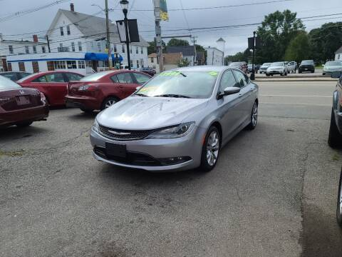 2015 Chrysler 200 for sale at TC Auto Repair and Sales Inc in Abington MA