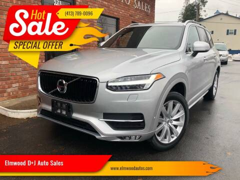 2018 Volvo XC90 for sale at Elmwood D+J Auto Sales in Agawam MA