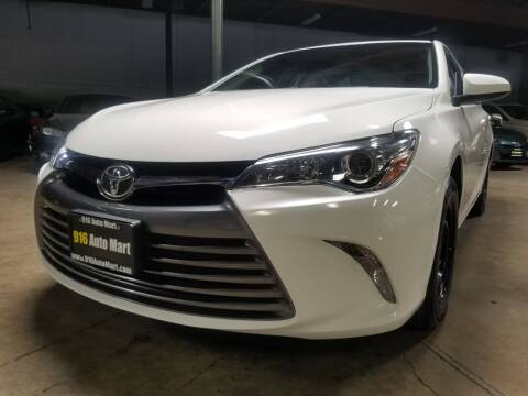 2017 Toyota Camry for sale at 916 Auto Mart ONLY $399 DOWN!!!* in Sacramento CA