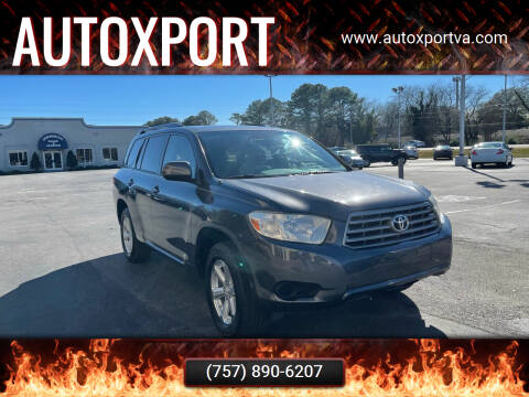 2008 Toyota Highlander for sale at Autoxport in Newport News VA
