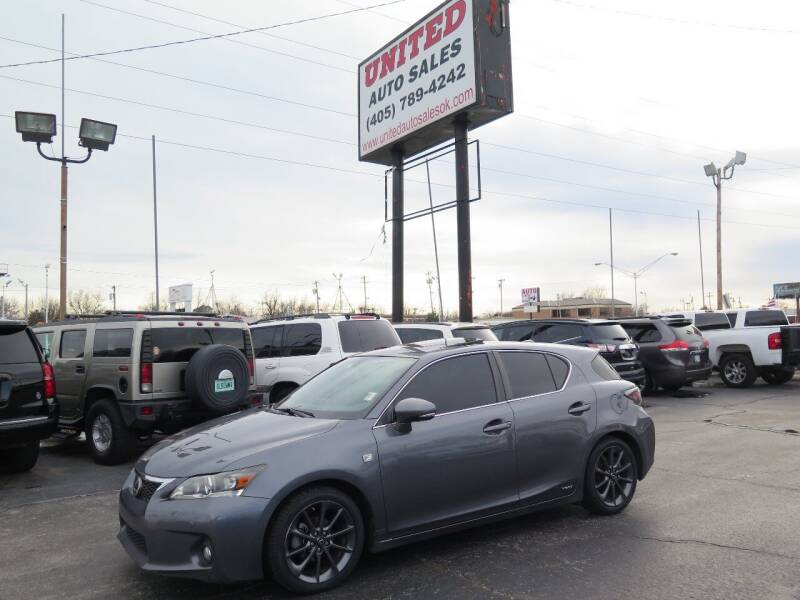 2013 Lexus CT 200h for sale at United Auto Sales in Oklahoma City OK