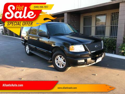 2004 Ford Expedition for sale at AllanteAuto.com in Santa Ana CA