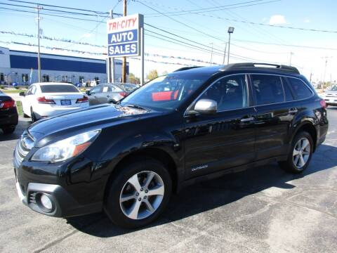 2013 Subaru Outback for sale at TRI CITY AUTO SALES LLC in Menasha WI